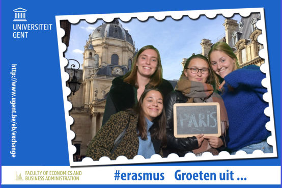 Event Universiteit Gent fotobox